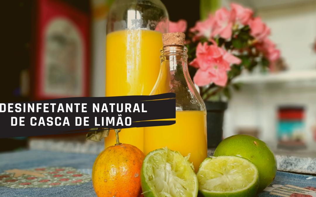 Receita : Desinfetante ecológico de Casca de limão