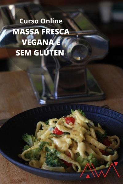 Massa Fresca vegana e sem gluten